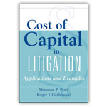 Cost of Capital in Litigation, Applications & Examples